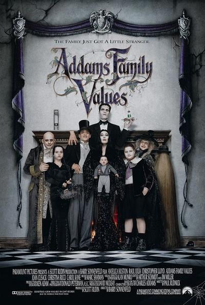 亚当斯一家的价值观(Addams