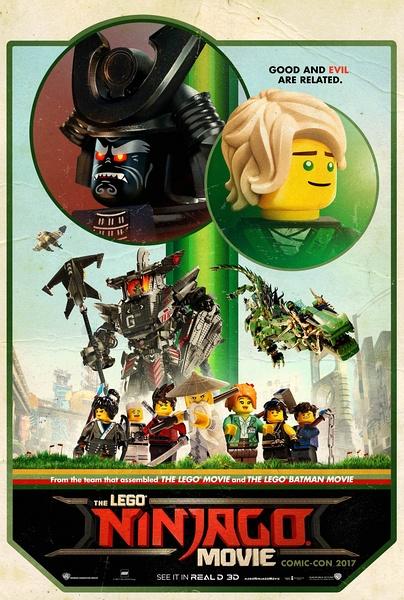 乐高幻影忍者大电影(The Lego Ninjago Movie)