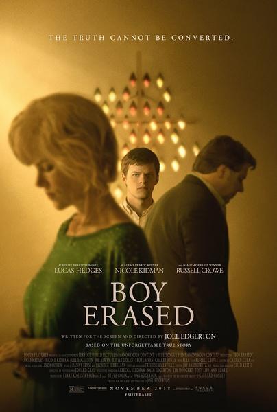 被抹去的男孩(Boy Erased)