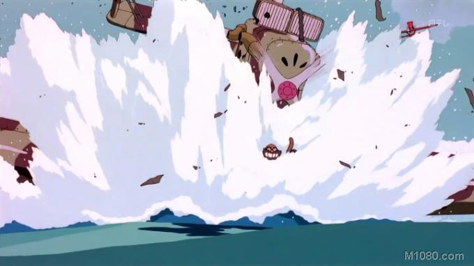 红猪中飞机手绘图