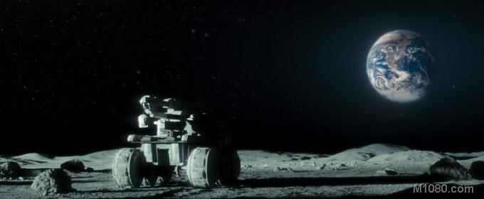 美国飞机在月球