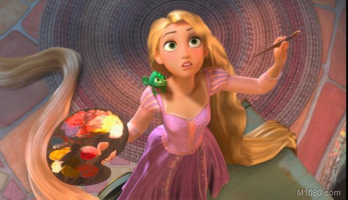 长发公主和白雪公主,灰姑娘,小美人鱼等也成为迪斯尼的经典美人形象.